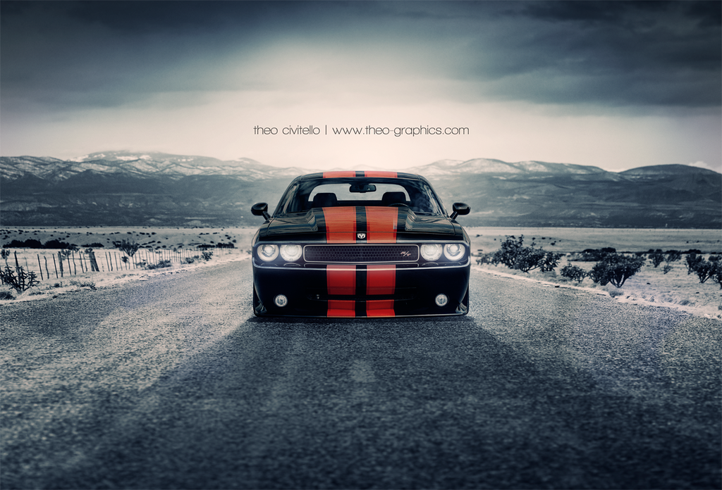 Dodge Challenger, Theo Civitello | www.theo-graphics.com